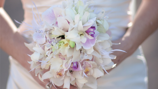 Beautiful white bouquet image