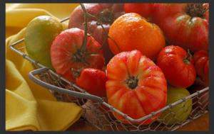 Tomatoes Black border