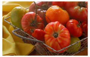 Tomatoes White Border