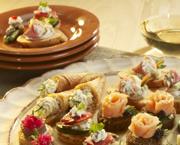 Hors D'Oeuvres & Seafood Specialties
