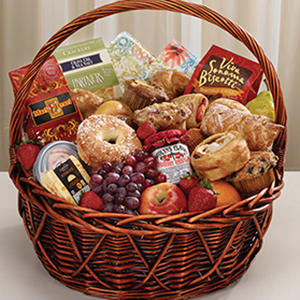 good morning sunshine gift basket