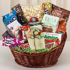 its movie time gift basket
