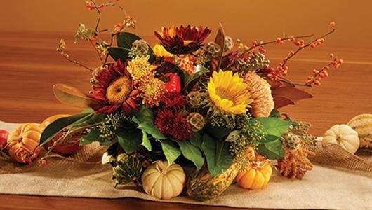 Beautiful Fall centerpiece image
