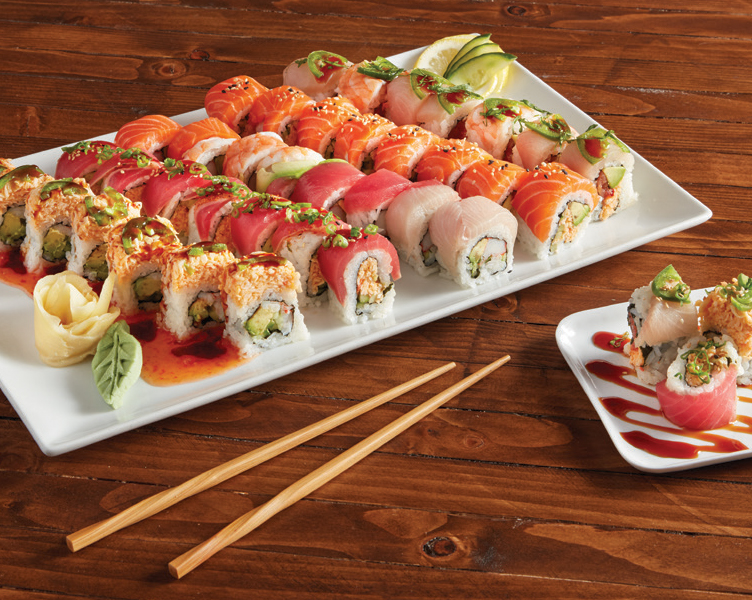 Sushi Party Platters