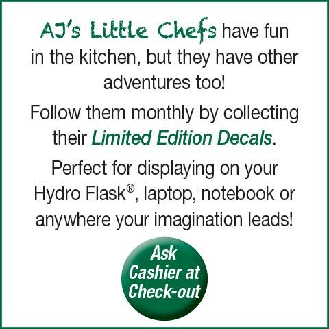 Little Chefs Club Decals