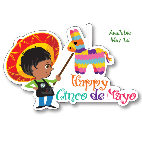 May Decal Cinco De Mayoo