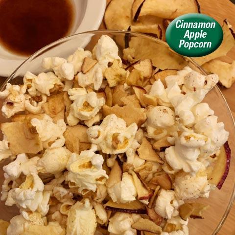 Cinnamon Apple Popcorn